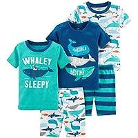 Carter's Toddler Boys' 5-Piece Cotton Snug-Fit Pajamas
