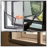 Eco-Friendly Velcro Window Screen for Mosquito Insect & Bugs