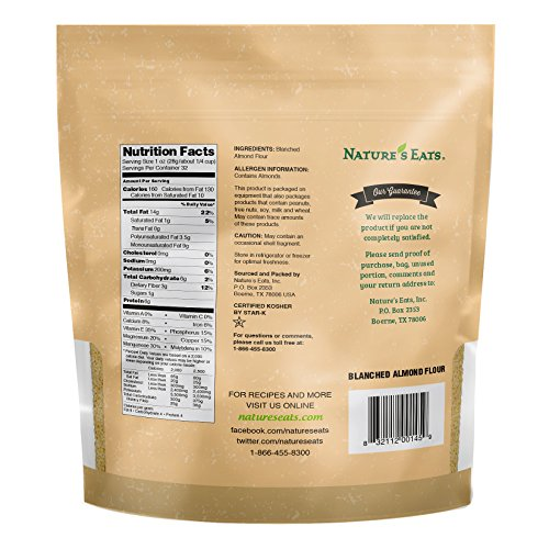 Nature's Eats Blanched Almond Flour, 32 Ounce - Buy Online