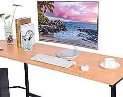 GOTOP Escritorio esquinero Grande para computadora, Escritorio ...
