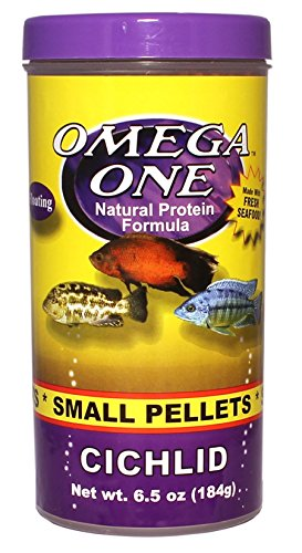 Picture of Omega One Cichlid Pellets - Small Floating 6.5oz.