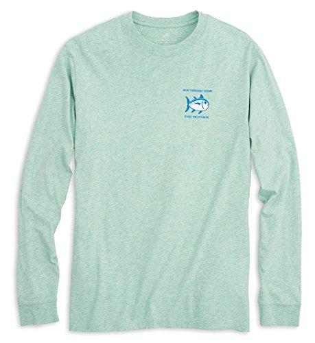 Southern Tide Long Sleeve Heathered Original skipjack T-Shirt for sale