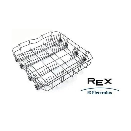 Cesta inferior con ruedas para lavavajillas Rex Electrolux ...