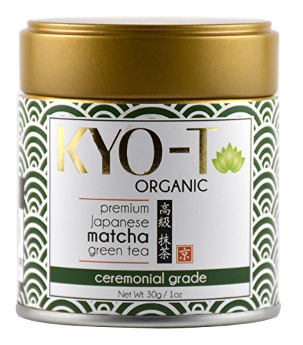 KYO-T Organic Premium Japanese Matcha green tea ceremonial grade 30g