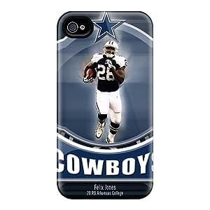 YTN1423Eeio Case Cover, Fashionable Iphone 4/4s Case - Dallas Cowboys