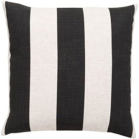 Amazon com: Simple Stripe JS-009 Polyester Filled Pillow - 22