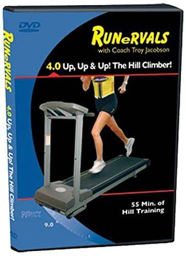 Spinervals Runervals 4.0 Up, Up, and Up! Hill Climber DVD (Running Workouts To Increase Speed And Endurance)
