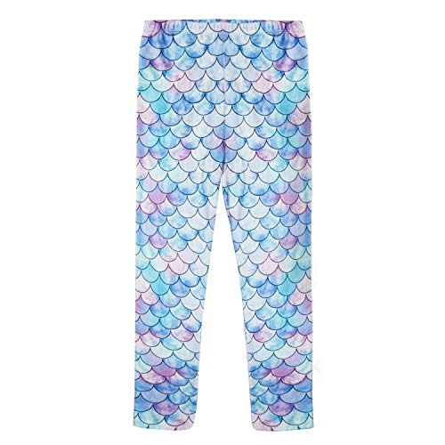 Unicorn Rainbow Mermaid Leggings Stretchy product image
