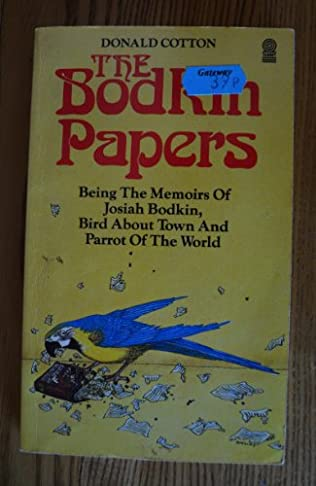book cover of Bodkin Papers