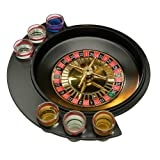 Premier Housewares Roulette 6 Glass Lucky Shot Drinking Game