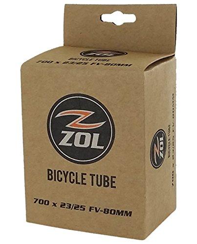 Zol Road Bicycle Bike Inner Tube 700 x 23/25C LONG PRESTA/FR