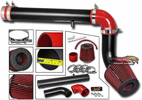RED COLD AIR INTAKE KIT DRY FILTER FOR 05-10 Dodge Charger Magnum 2.7L V6