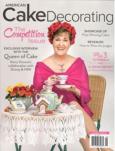 American Cake Decorating Magazine June 2016