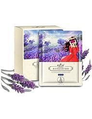 Huluwa Steam Eye Mask Hot Warm Eye Patch Steam Warming Eye Pillow Eye SPA Mask, Lavender Fragrance, 10pcs