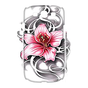 High Quality Cusom 3D Hard Back Phone Case for Samsung Galaxy S3 I9300 - Lily 3D Hard Phone Case LIB688335