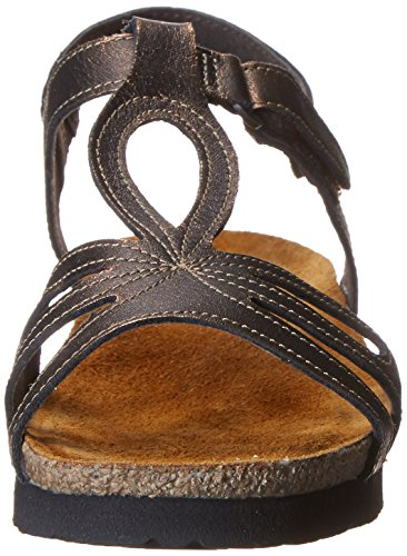 Leather Women Gladiator NAOT Rachel Copper Sandal Burnt xHBnzwYTO