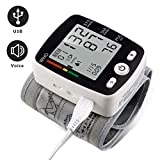 Best Blood Pressure Cuff Wrists - Wrist Blood Pressure Monitor with USB Charging, Portable Review