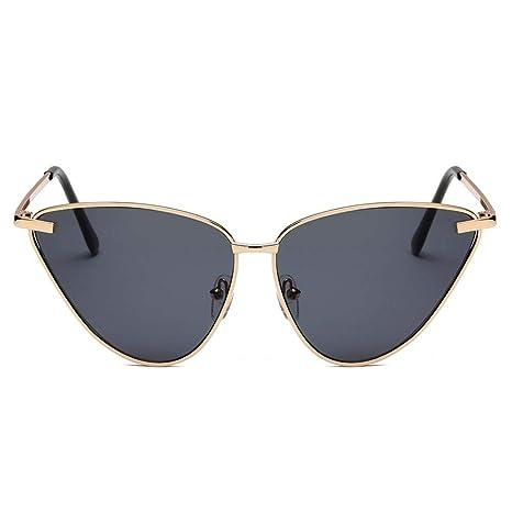 Waroomss Moda Retro Marca Gafas de Sol polarizadas Mujeres ...