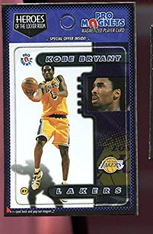 1997-98 1998 Crown Pro Magnets Card Kobe Bryant Mags Refrigerator Heroes Locker - Collectible Refrigerator Magnet