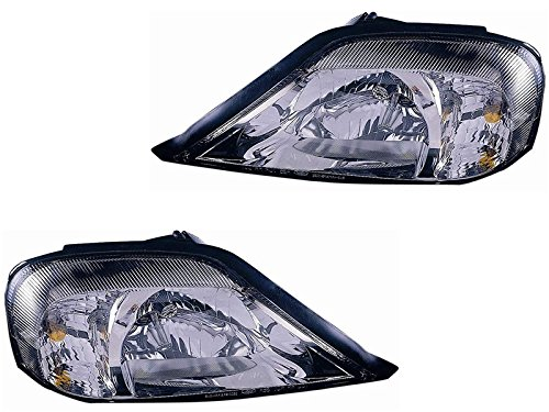 Mercury Sable 00 01 02 03 04 05 Head Light Lamp Pair 1F4Z 13008 Bb 1F4Z 13008 Ba