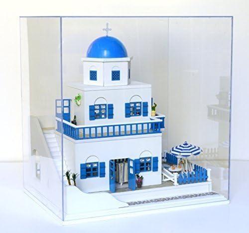 New Santorini Dollhouse Miniature DIY Kit
