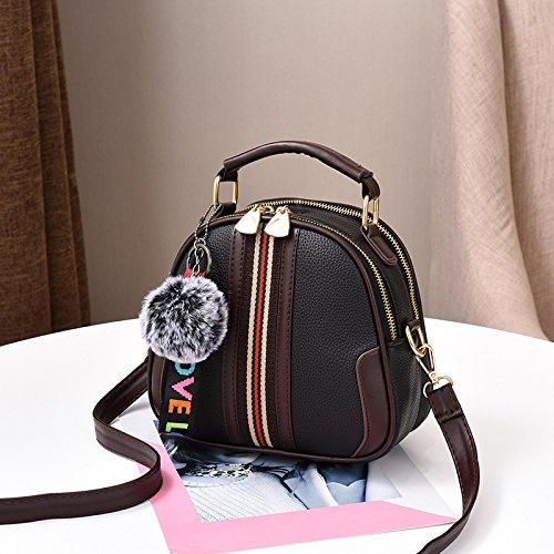Bolsa Messenger Fresca Hombro Bolsa De GUANGMING77 Hombro Goma Bolsa Black bag Messenger De Bolso Polvo CxYRSCEqw