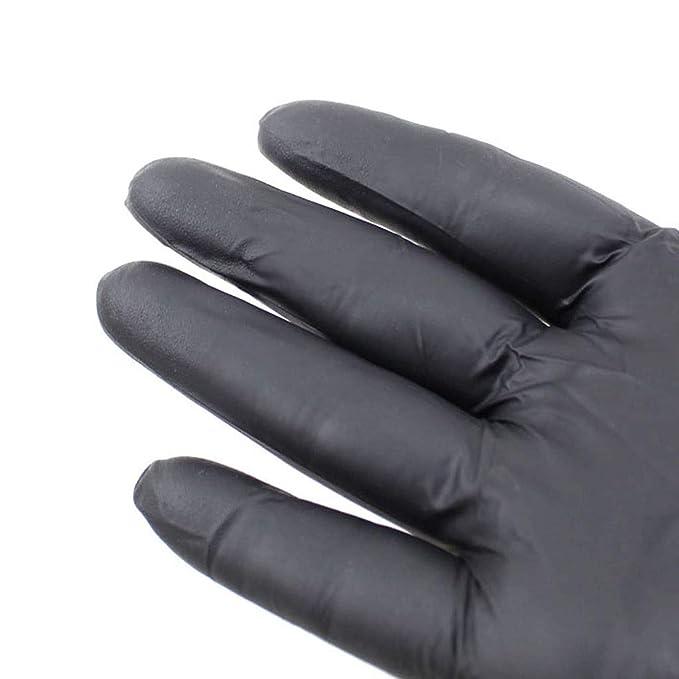 G-F Importado Lacado Negro Tinta Tatuajes Guantes Especiales ...