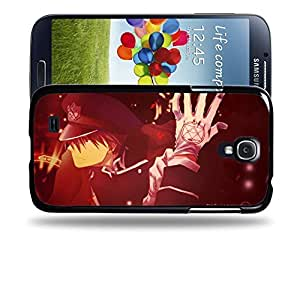 Case88 Designs Fullmetal Alchemist Brotherhood Roy Mustang Protective Snap-on Hard Back Case Cover for Samsung Galaxy S4