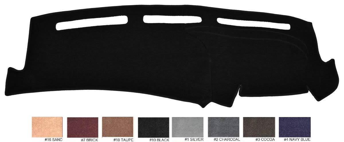 2014 - 2018 Toyota Tundra Dash Cover Dashboard Cover Mat Dash Pad - Premium Custom Carpet (Black)