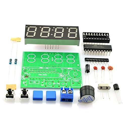 "HJ Garden 0.56"" C51 4 Bits Digital Electronic Clock for sale  Delivered anywhere in USA"