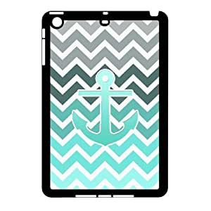 Winfors Blue Chevron Anchor Phone Case For iPad Mini [Pattern-2]