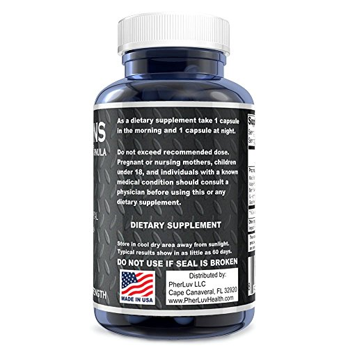 Extensions IV™ Testosterone Enlargement Booster Increases Energy, Mood & Endurance - All Natural Performance Supplement for Men by PherLuv LLC (Image #2)