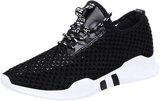 HLIYY Chaussures de Sport Femme Basket de Running Fitness