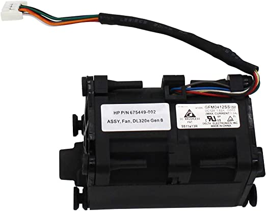 S-Union New Replacement CPU Cooling Fan for HP DL320E G8 675449-001 675449-002