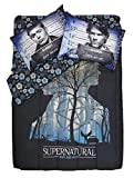 3pc SUPERNATURAL Full/Queen Size COMFORTER & 2 PILLOWCASE Set