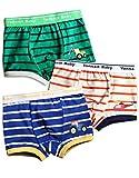 Vaenait baby 2T-7T Boys Boxer 3-Pack Underwear Set Boxer Vehicle M