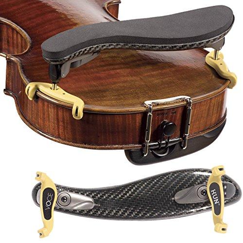 Kun Voce Violin Shoulder Rest 4/4-3/4 Size by Kun