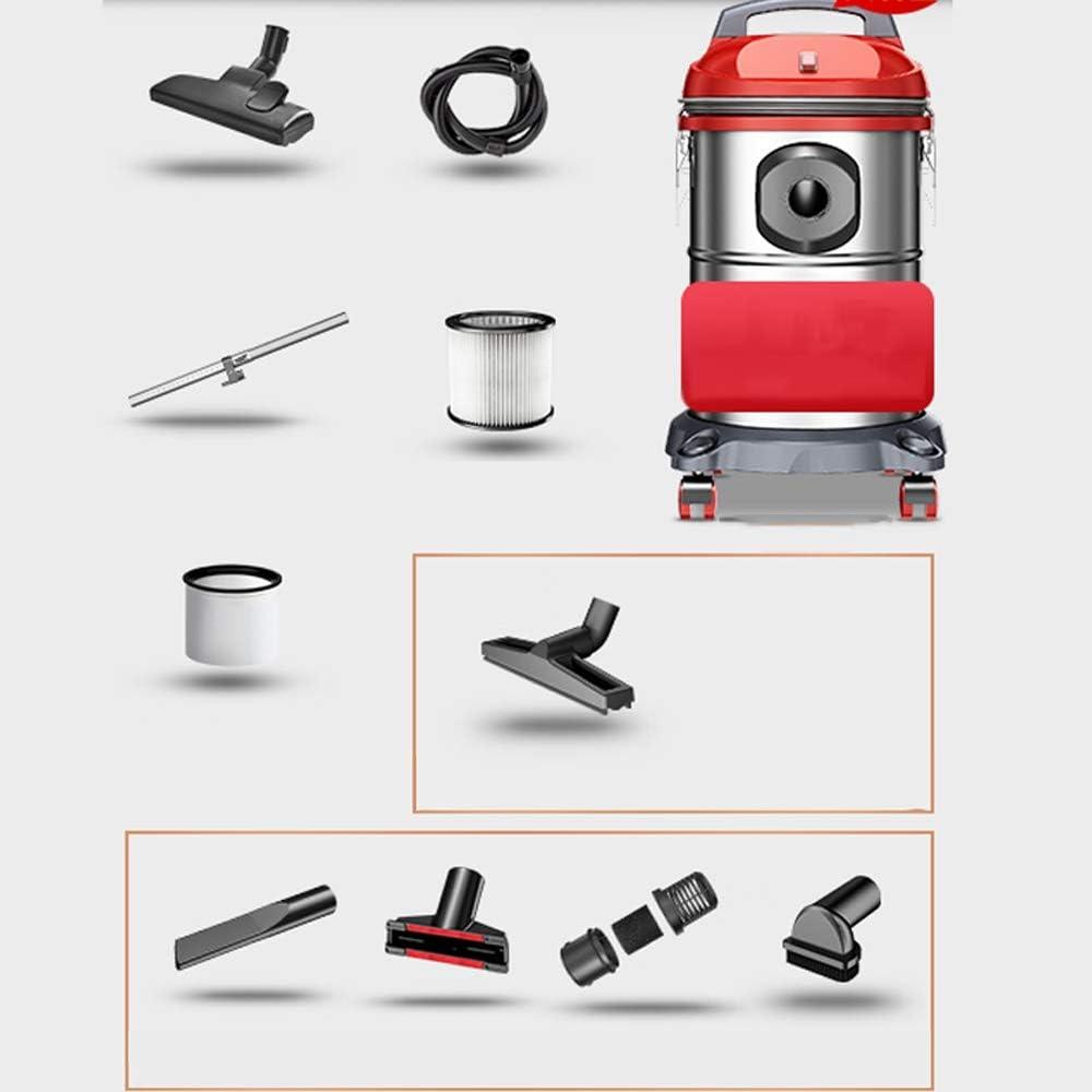 RKY Aspiradora - Multi-Capa de Acero Inoxidable Filtro de vacío 15L - 18L pequeña aspiradora Industrial de Alta Potencia de los hogares, 18L: Amazon.es: Hogar