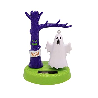 Solar Powered Dancing Toys Solar Swinging Ghost Kids Toy New Solar Shaking Head Doll Creative Car Decoration Jewelry Children's for Halloween Car Dashboard Office Desk Home Decor: Home Improvement
