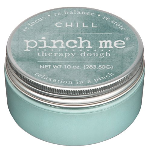 Pinch Me Therapy Dough - Holistic Aromatherapy Stress Relieving Putty - 10 Ounce Chill Scent
