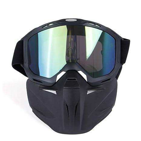 Casco Moto Proteger el acolchado Casco Gafas de sol con ...