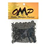 OMP Slotted Kisser Button (Pack of 100) by OMP
