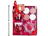 Christmas Snowflake 7pc Tea Light Candle Gift Set