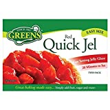 Green's Red Quick Jel (2x35g) - Pack of 2