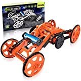 HAKOL STEM DIY Car Assembly Toy: Electric Mechanical Construction Car Kit| Real Motor Climbing Car for Kids & Adults|Engineering Vehicle for Science Experiments & Circuit Building Projects