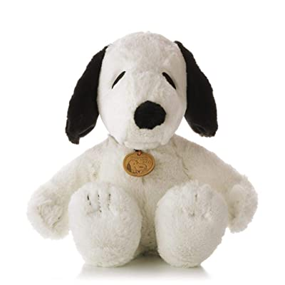 Hallmark Classic Snoopy Plush Happiness Since 1950 Snoopy PAJ3221: Toys & Games