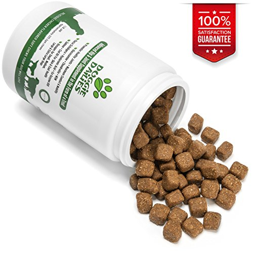 Advanced Hip & Joint Supplement for Dogs, 225 Soft Chews, All Natural Glucosamine, Chondroitin, MSM & CoQ10 For Healthy Hips & Joints, Made in the USA