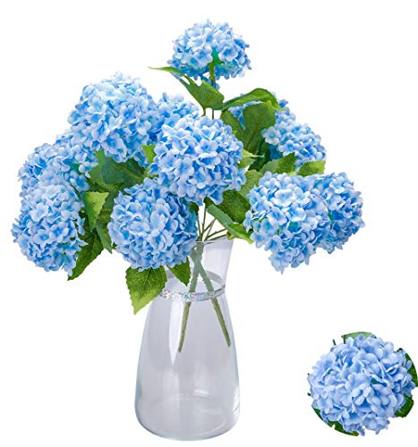 Greentime Mini Hydrangea Artificial Flowers 13