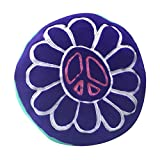 Beco Home Children's Collection: Decorative Accent/Throw Pillow, Peace Flower