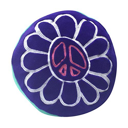 Beco Home Children's Collection: Decorative Accent/Throw Pillow, Peace Flower by Beco Home
